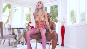 Beautiful Janice Griffith interracial fuck