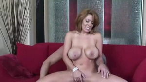 Ramming hard alongside hot latina stepmom