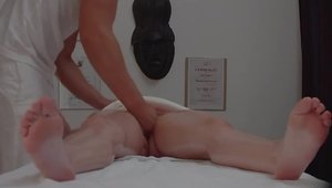 Massage on the table