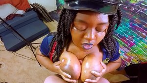 Large boobs amateur creampied HD