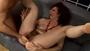 Rough nailing along with hairy MILF