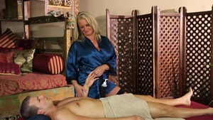 Delicious Maya Divine massage cock sucking