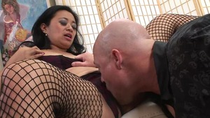 Wet pussy Lucky Starr reverse cowgirl