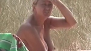 Fucked hard at the beach accompanied by stepmom