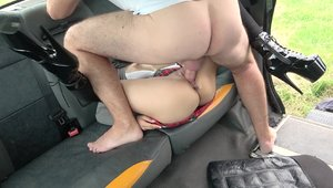 FakeTaxi: In a taxi very sexy japanese Rae Lil Black