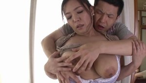 Cock sucking escorted by chubby hot asian housewife