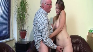 Young german babe rushes first time plowing hard