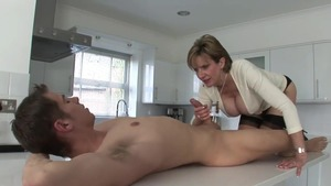 Cunnilingus starring large tits incredible british mistress