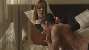 Young Alexis Crystal blonde pussy fucking sex tape