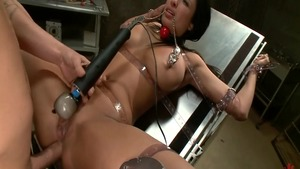 Anissa Kate in hardcore gonzo ass to mouth